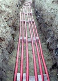 прокладка силовых кабелей. Яровские электрики.